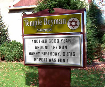 Temple Beyman wishes Doc Beyman a happy birthday!